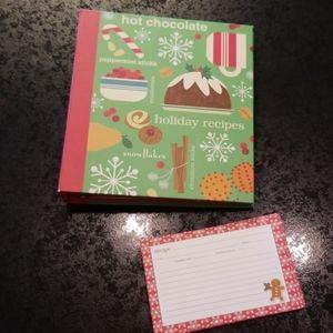 Hallmark 4x6 Recipe Card Book